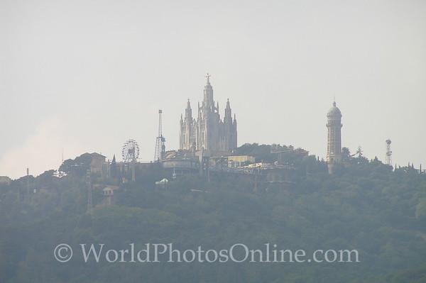 Barcelona - View of Tibidabo