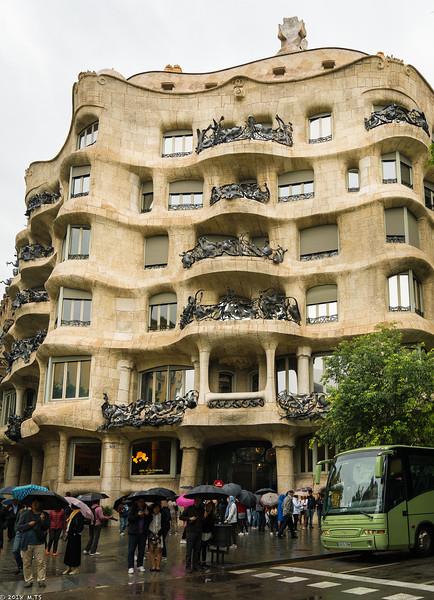 Casa Milà (La Pedrera) by Gaudí, Barcelona