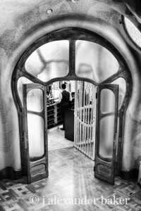 Front Desk at Casa Batllo