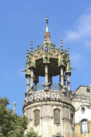 Barcelona - Top of La Rotonda