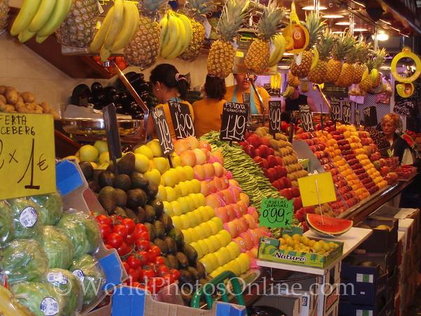 Mercat de la Boqueria - City Market - Fruits