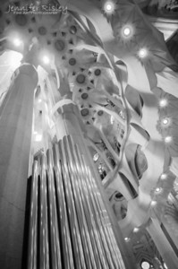 La Sagrada Familia Organ Pipes