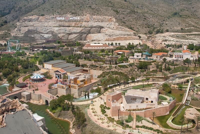 Terra Mitica in Benidorm, Spain