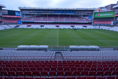 San Mames Stadium in Bilbao, Spain