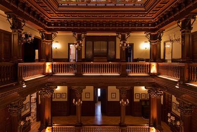 Inside the City Hall in Bilbao, Spain