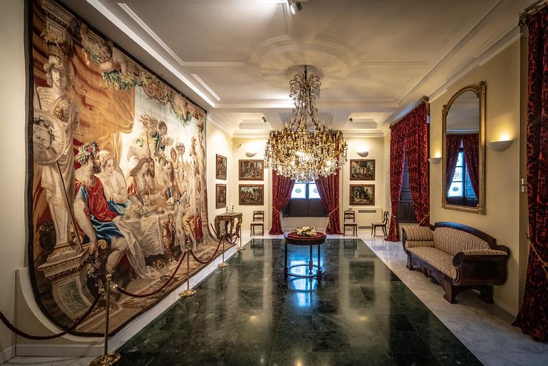 Inside the Palacio de Golfines de Abajo