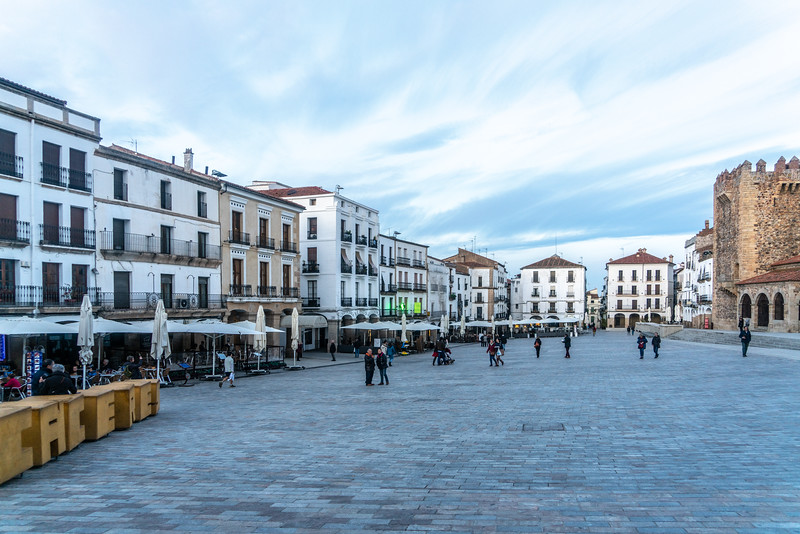 Plaza Mayor in Caceres