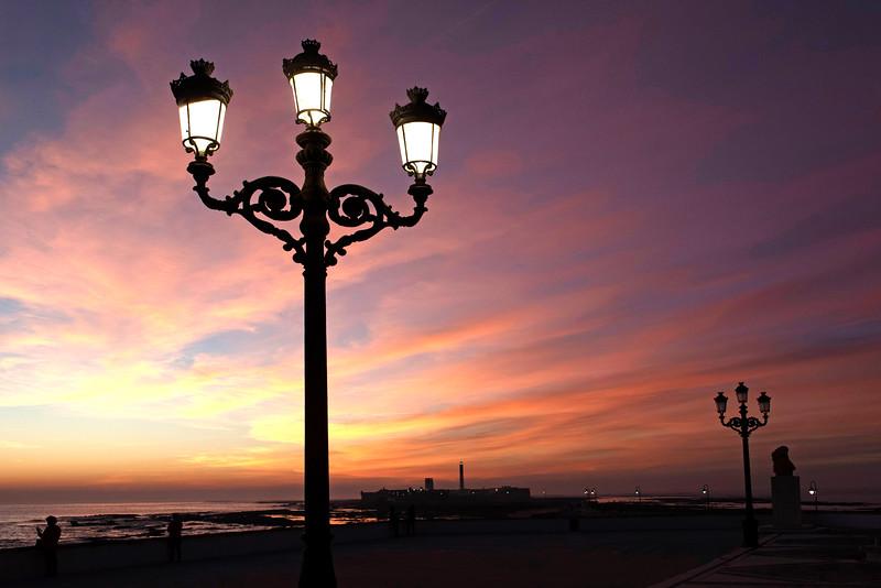 cadiz sunset