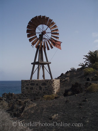 Lanzarote - Windmill for pumping water