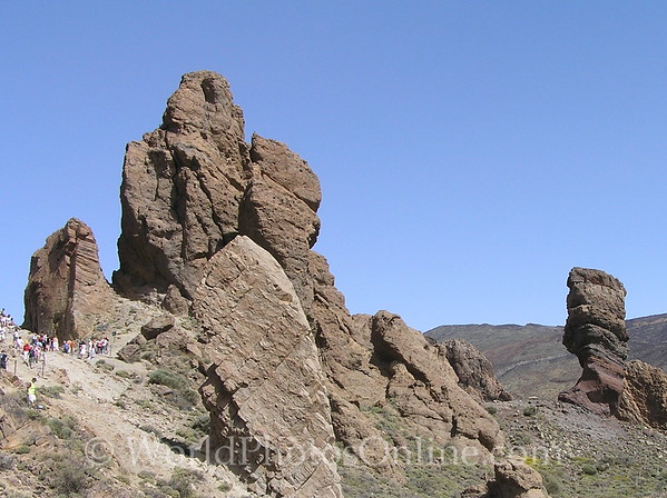 Tenerife - 'Noses' of Mt Teide 1