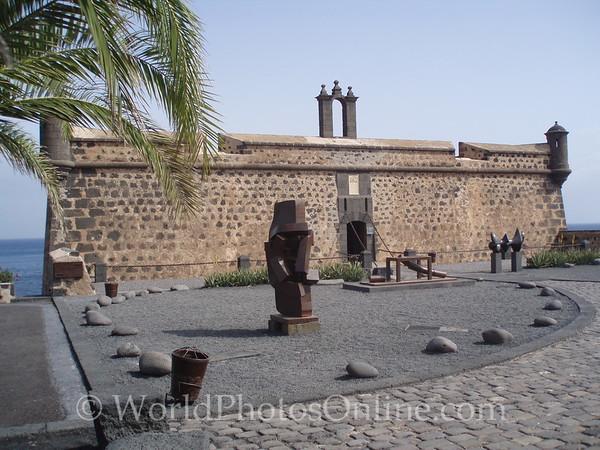 Lanzarote - 1774 Castle NOW Art Museum