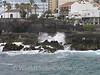 Tenerife, Puerto De La Cruz - black sand city beach 2
