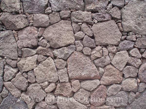Lanzarote - Fire Mountain - Rock wall