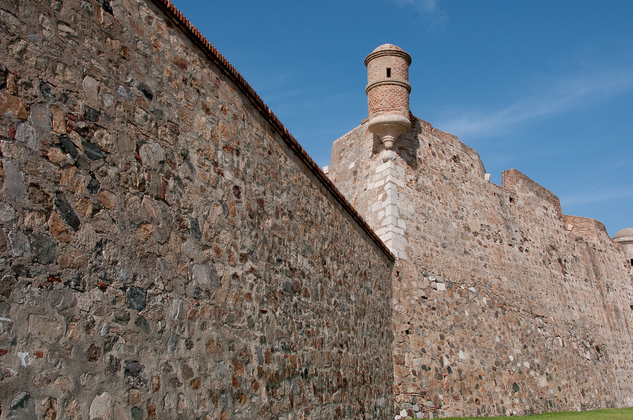 Royal Walls of Ceuta in Spain