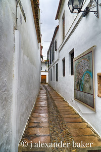 Narrow lane, Cordoba