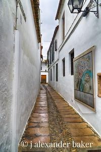 Narrow lane, Cordoba