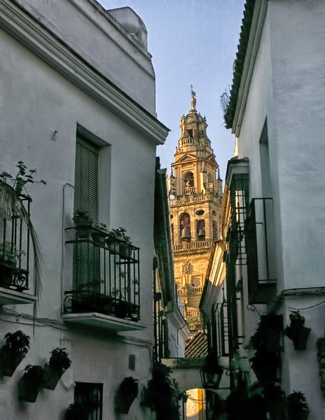 Minaret - Great Mosque of Cordoba
