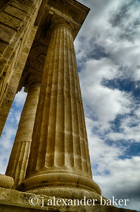 Columns, Roman Gate, Cordoba, Spain