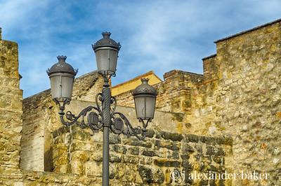 Streetlight, Cordoba, Spain