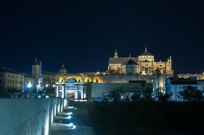 Mosque of Cordova at Night - Cordova, Spain