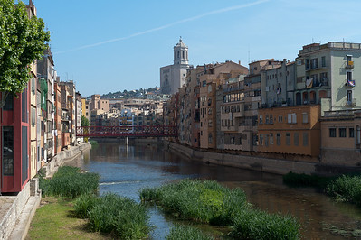 The Eiffel Bridge in Costa Brava, Girona, Spain