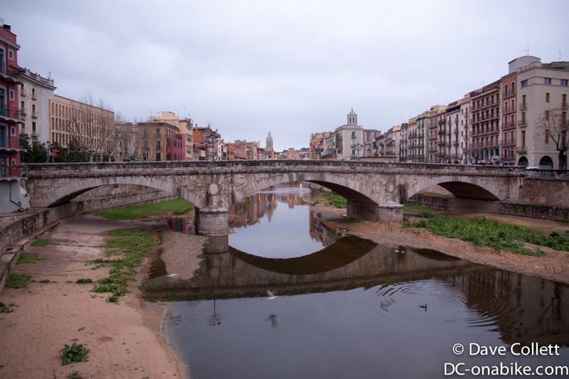 River in Girona