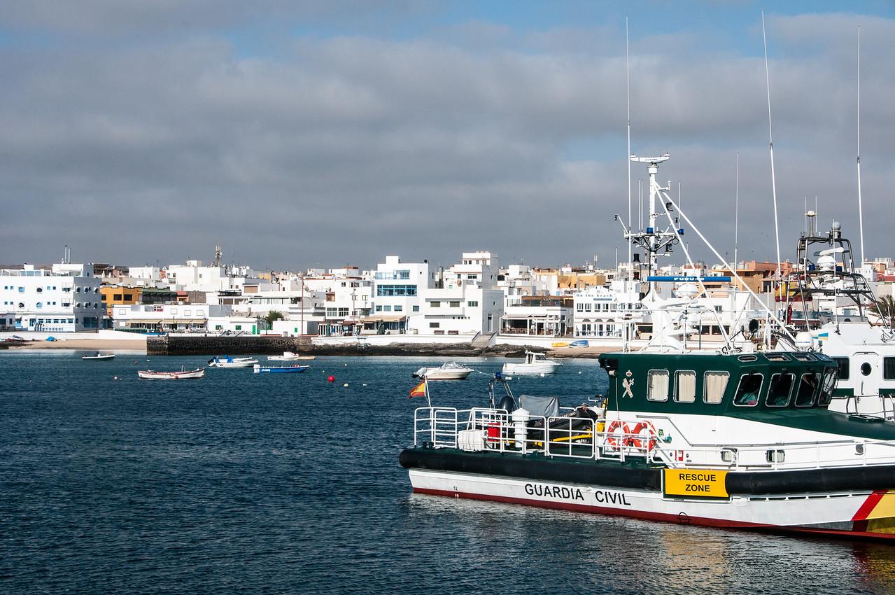 Port of Morro Jable, Canary Island Fuerteventura, Spain