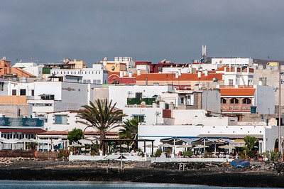 Skyline in Corralejo, Fuerteventura, Spain