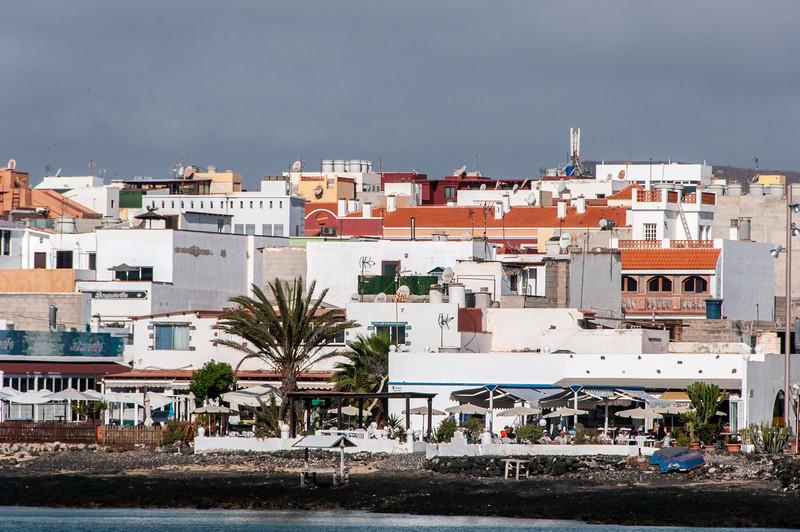 Skyline in Corralejo, Fuerteventura, Spain