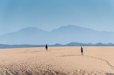 Exploring the Corralejo Sand Dunes in Fuerteventura, Canary Islands, Spain