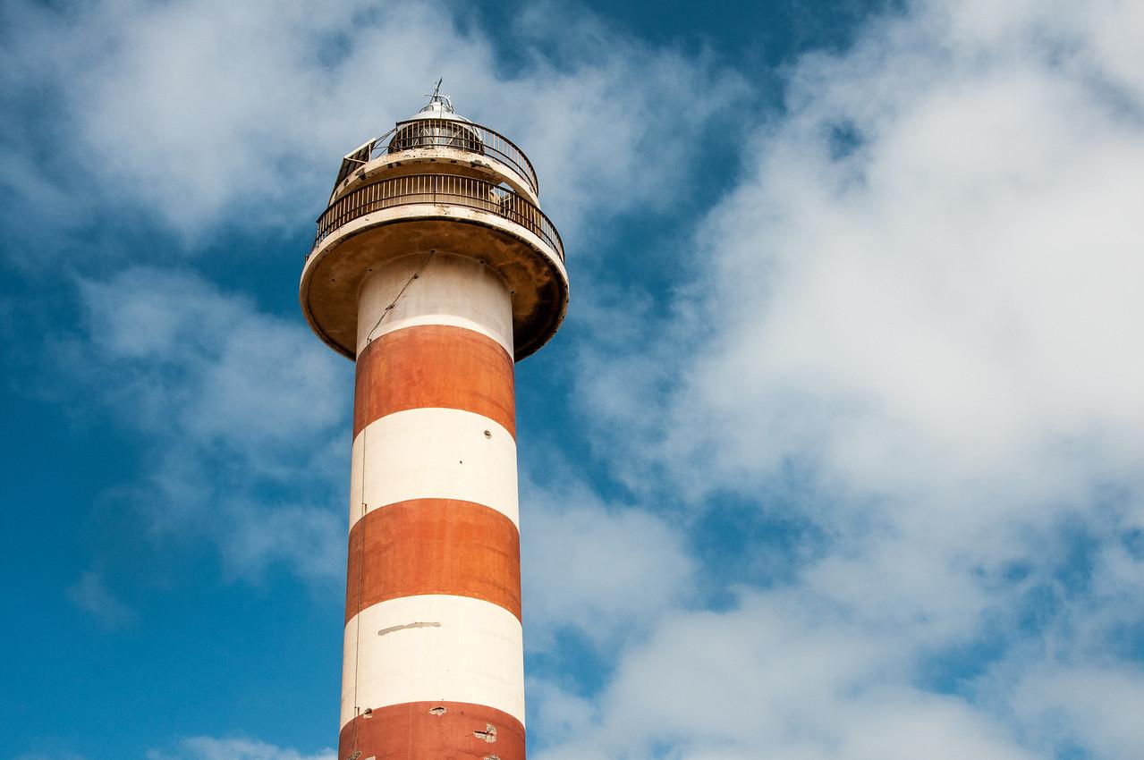 Lighthouse Faro del Toston, Fuerteventura, Spain
