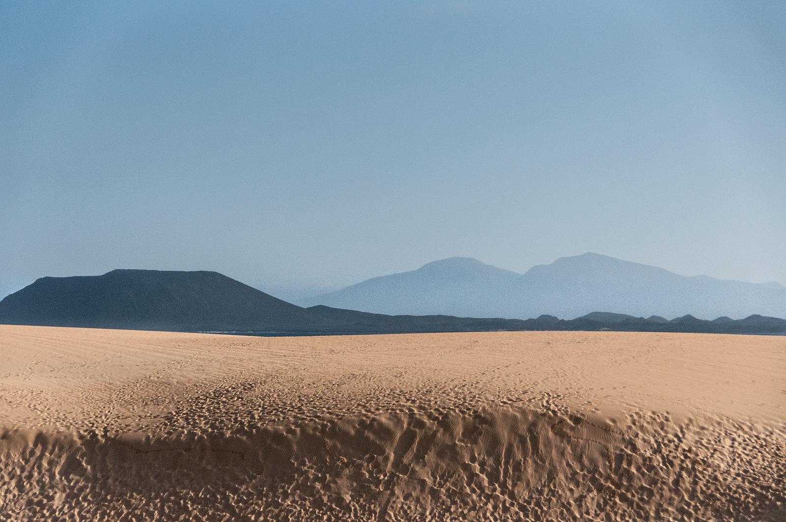 Corralejo Dunes in Fuerteventura, Canary Islands, Spain
