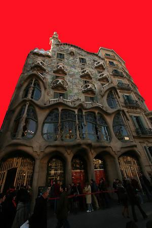 Gaudi's Casa Batlló, Barcelona