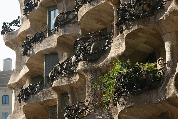 Gaudi's La Pedrera, Barcelona