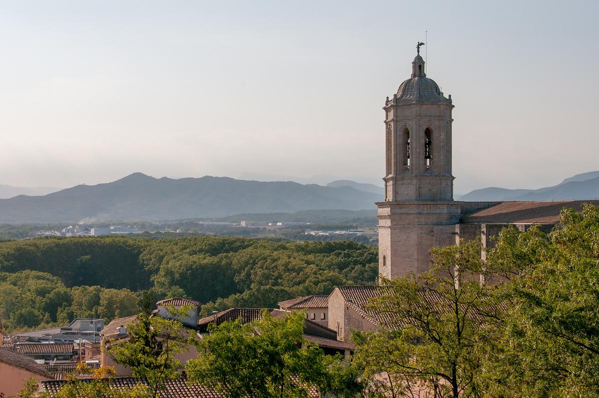 La Catedral de Girona in Catalonia, Spain