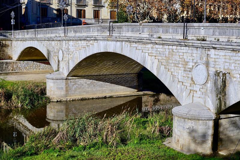 Girona old bridge