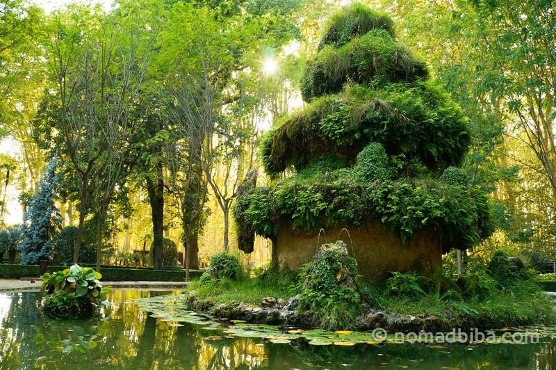 Fountain in Parc de la Devesa