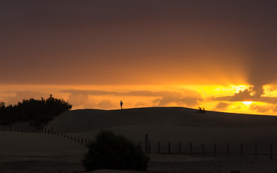 Sunrise at Maspalomas