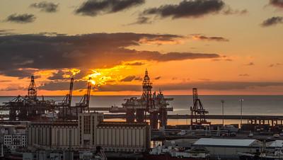 Drilling at Sunrise