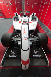 One of the race cars at the 2011 European Grand Prix - Valencia, Spain