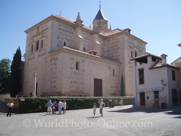 Alhambra - Chuch of Santa Maria (Converted Mosque)
