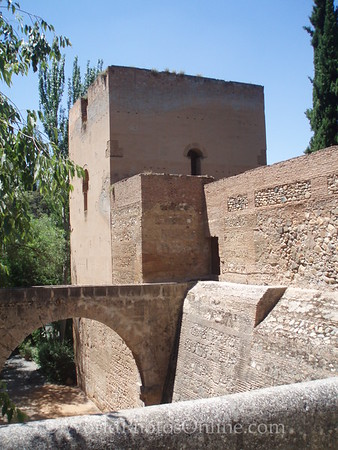 Alhambra - Torres - Water Tower and Aqueduct
