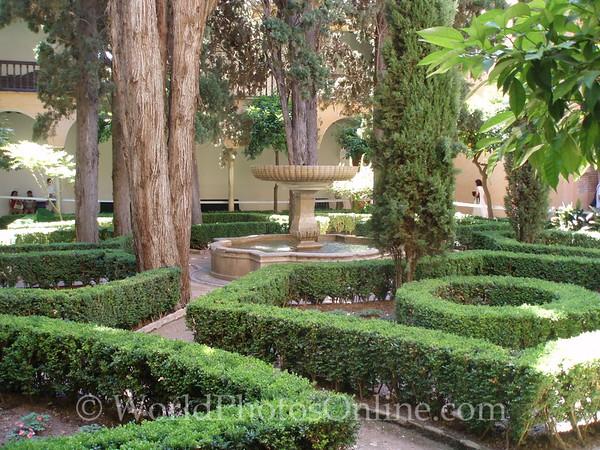 Alhambra - Nasrid Palace - Lions - Courtyard of Lindaraja