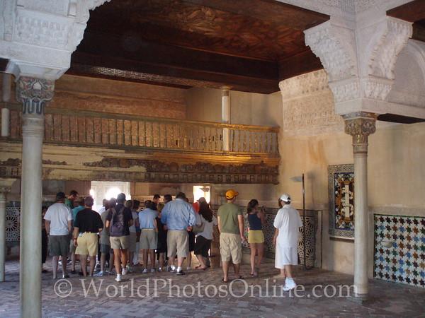 Alhambra - Nasrid Palace - Mexuar - Hall of the Mexuar