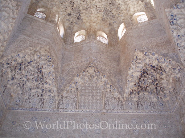 Alhambra - Nasrid Palace - Lions - Hall of Two Sisters 2