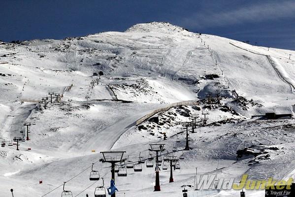ski sierra nevada - ski resorts in spain