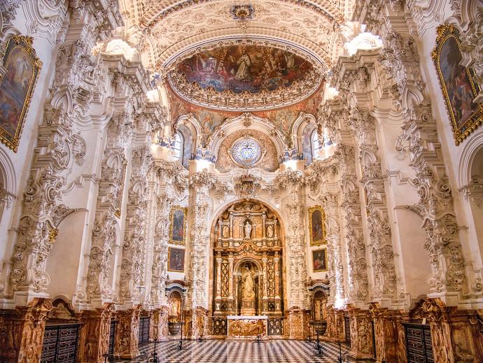 cartuja monastery interior