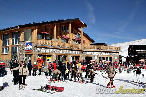 Apres-ski in Sierra Nevada