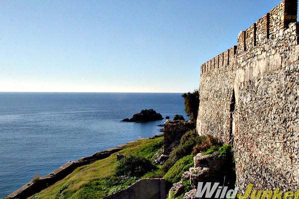 View from Almuñecar castle