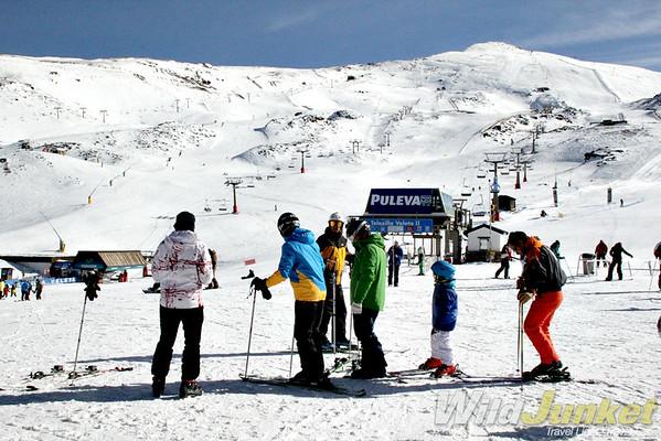 skiing in sierra nevada
